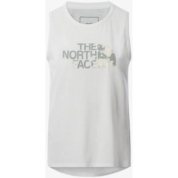 vaatteet Naiset Hihattomat paidat / Hihattomat t-paidat The North Face CAMISETA SIN MANGAS MUJER  NF0A55B1 Valkoinen
