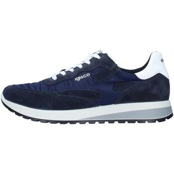 kengät Miehet Matalavartiset tennarit IgI&CO 7122022 BLUE