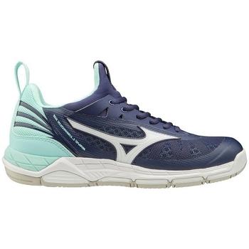 kengät Naiset Fitness / Training Mizuno Wave Luminous W Tummansininen, Turkoosit