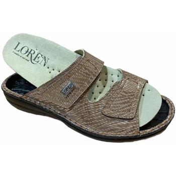 kengät Naiset Sandaalit Calzaturificio Loren LOM2829scuoio marrone