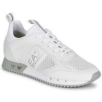 kengät Matalavartiset tennarit Emporio Armani EA7 BLACK&WHITE LACES Valkoinen