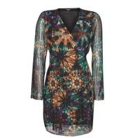 vaatteet Naiset Lyhyt mekko Desigual BAKER STREET Monivärinen