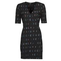 vaatteet Naiset Lyhyt mekko Desigual SOLE Musta