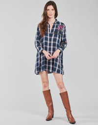 vaatteet Naiset Tunika Desigual JACARANDA Sininen