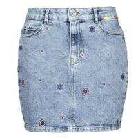 vaatteet Naiset Hame Desigual LESLIE Sininen