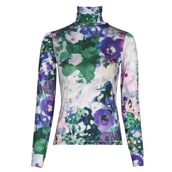 vaatteet Naiset T-paidat pitkillä hihoilla Desigual INAYA Monivärinen