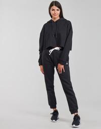 vaatteet Naiset Verryttelyhousut Champion HEAVY ORGANIC COTTON POLY FLEECE Musta