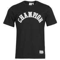 vaatteet Miehet Lyhythihainen t-paita Champion 216575 Musta