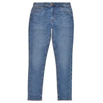 vaatteet Tytöt Skinny-farkut Pepe jeans PIXLETTE HIGH Sininen