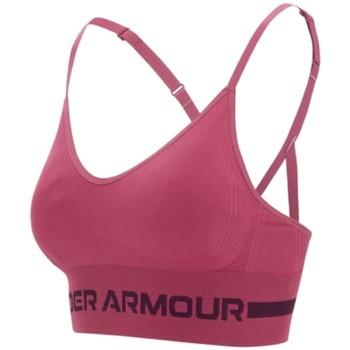 vaatteet Naiset Urheiluliivit Under Armour Seamless Low Long Bra Violet