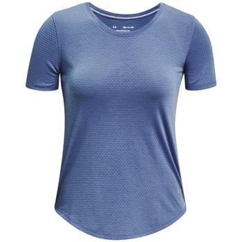 vaatteet Naiset Lyhythihainen t-paita Under Armour Streaker Run Short Sleeve Bleu