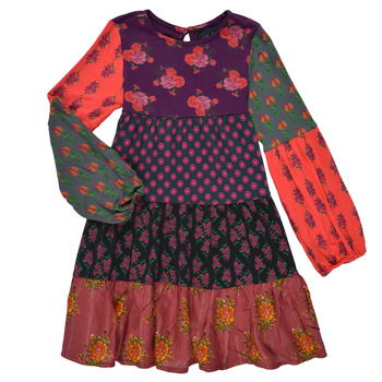 vaatteet Tytöt Lyhyt mekko Desigual CELIA Monivärinen