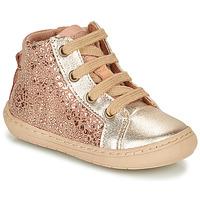kengät Tytöt Bootsit Bisgaard VILLUM Vaaleanpunainen