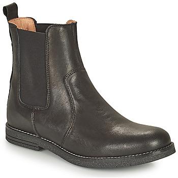 kengät Tytöt Bootsit Bisgaard NANNA Musta