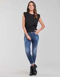 vaatteet Naiset Skinny-farkut Replay LUZIEN Sininen / Tumma