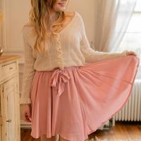 vaatteet Naiset Hame Céleste EGLANTINE Vaaleanpunainen