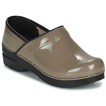 kengät Naiset Puukengät Sanita PROF Taupe