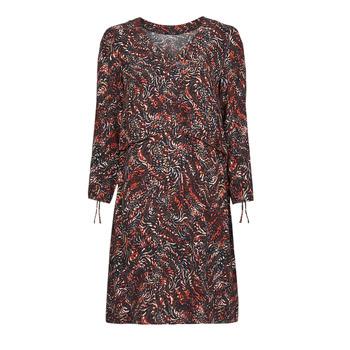 vaatteet Naiset Lyhyt mekko One Step FT30121 Punainen / Monivärinen