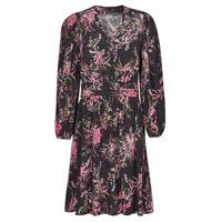 vaatteet Naiset Lyhyt mekko One Step FT30101 Musta / Monivärinen