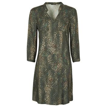 vaatteet Naiset Lyhyt mekko One Step FT30011 Khaki
