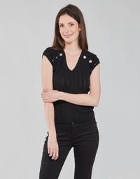 vaatteet Naiset Topit / Puserot Morgan MDIDO Musta