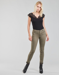 vaatteet Naiset 5-taskuiset housut Morgan PETRA Thyme