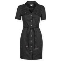 vaatteet Naiset Lyhyt mekko Morgan RVANYA Musta