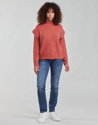 vaatteet Naiset Suorat farkut Freeman T.Porter ALEXA STRAIGHT SDM Sininen / Tumma