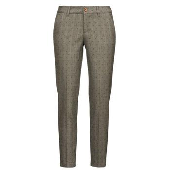 vaatteet Naiset 5-taskuiset housut Freeman T.Porter CLAUDIA PONGO Harmaa