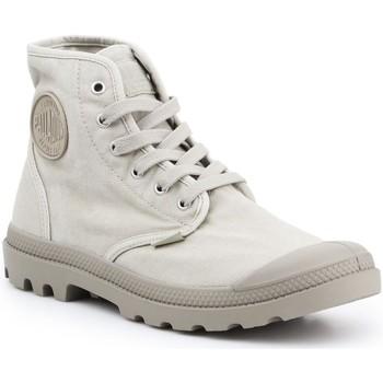 kengät Miehet Korkeavartiset tennarit Palladium Pampa HI 02352-316 beige