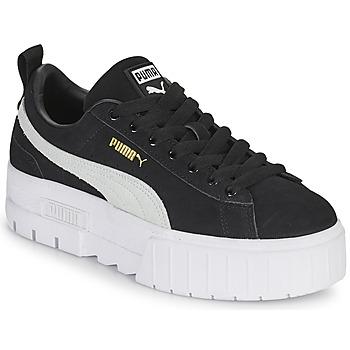 kengät Naiset Matalavartiset tennarit Puma MAYZE Musta / Valkoinen