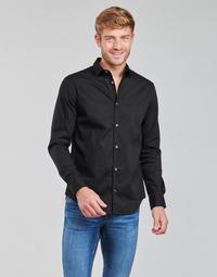 vaatteet Miehet Pitkähihainen paitapusero Emporio Armani 8N1C09 Musta