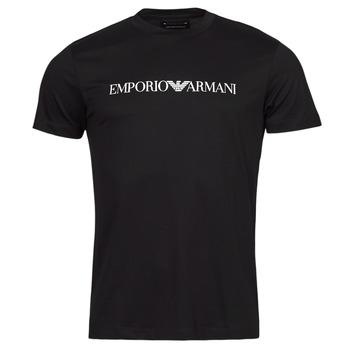 vaatteet Miehet Lyhythihainen t-paita Emporio Armani 8N1TN5 Laivastonsininen