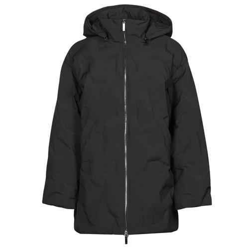 vaatteet Naiset Toppatakki Emporio Armani 6K2B94 Musta