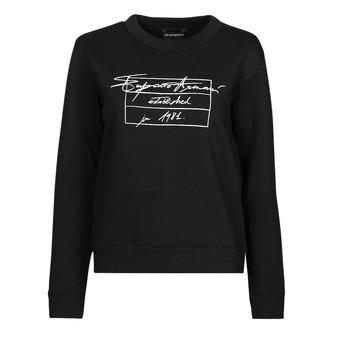 vaatteet Naiset Svetari Emporio Armani 6K2M7R Musta