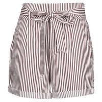 vaatteet Naiset Shortsit / Bermuda-shortsit Vero Moda VMEVA Valkoinen / Ruskea