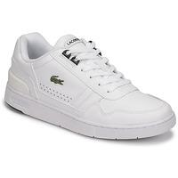 kengät Naiset Matalavartiset tennarit Lacoste T-CLIP 0121 2 SFA Valkoinen