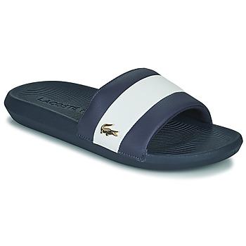 kengät Miehet Rantasandaalit Lacoste CROCO SLIDE 120 3 US CMA Sininen / Valkoinen