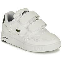kengät Lapset Matalavartiset tennarit Lacoste T-CLIP 0121 1 SUI Valkoinen