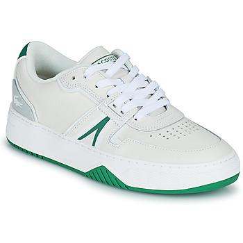 kengät Naiset Matalavartiset tennarit Lacoste L001 0321 1 SFA Valkoinen / Vihreä