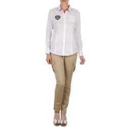 vaatteet Naiset 5-taskuiset housut Napapijri MYOSA Beige