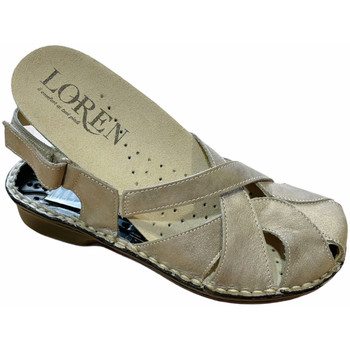 kengät Naiset Sandaalit ja avokkaat Calzaturificio Loren LOM2867tor tortora