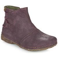 kengät Naiset Bootsit El Naturalista ANGKOR Viininpunainen