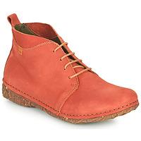 kengät Naiset Bootsit El Naturalista ANGKOR Punainen