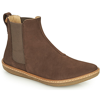 kengät Naiset Bootsit El Naturalista CORAL Ruskea