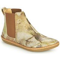 kengät Naiset Bootsit El Naturalista CORAL Harmaa