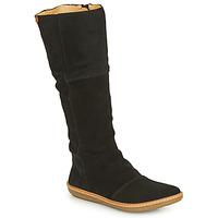 kengät Naiset Saappaat El Naturalista CORAL Musta