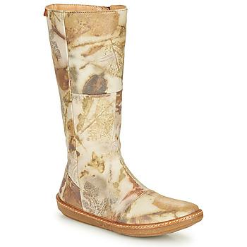 kengät Naiset Saappaat El Naturalista CORAL Harmaa