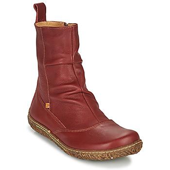 kengät Naiset Bootsit El Naturalista NIDO ELLA Viininpunainen