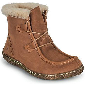 kengät Naiset Bootsit El Naturalista NIDO ELLA Ruskea